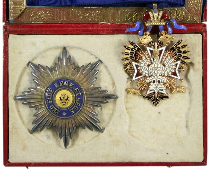 Комплект ордена Белого Орла