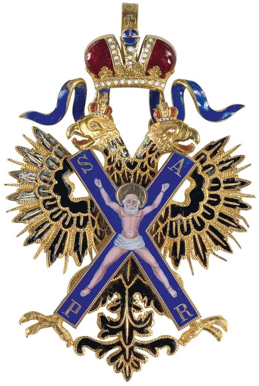 Картинки по запросу Орден святого Андрея Первозванного