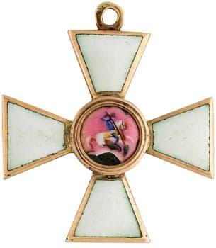 Кто имел крест святого георгия