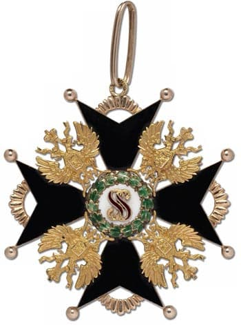 Знаки ордена святого станислава