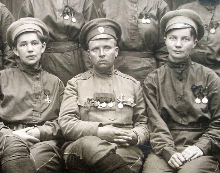 Женский батальон смерти Марии Бочкаревой фрагмент