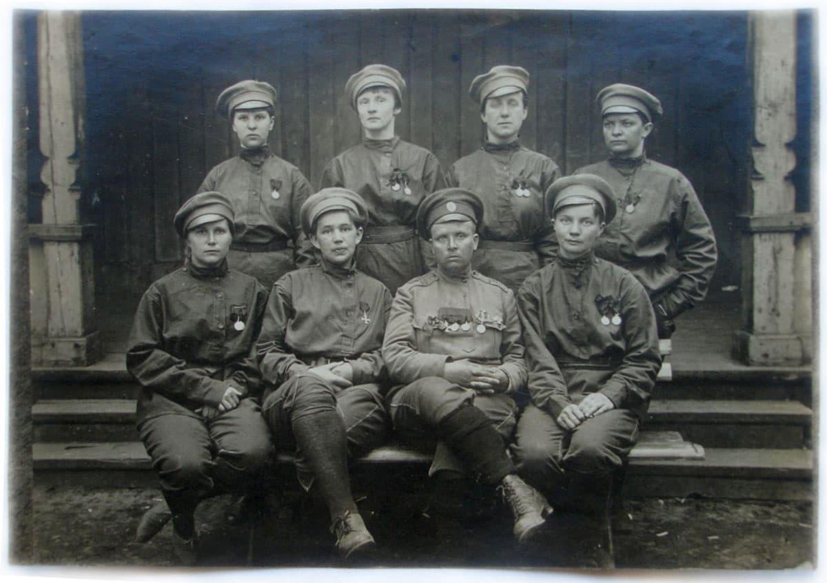 Женский батальон смерти Марии Бочкаревой