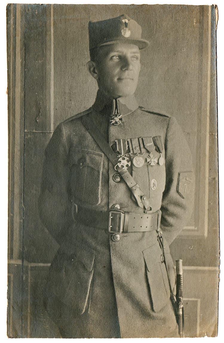 Váňa Josef - командир полка Чехословацкого корпуса