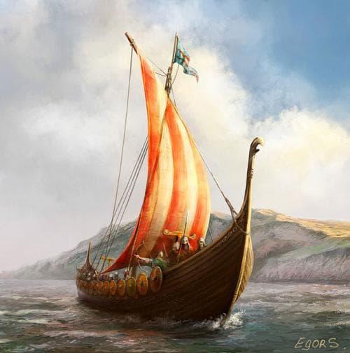 древние лодки славян