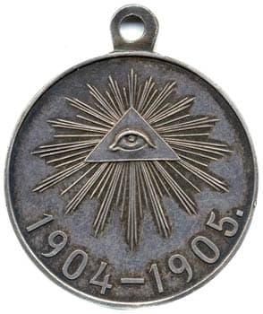 Медаль в память Японской войны 1904-1905 гг.